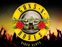 HD-графика и таблица выплат в Guns-N-Roses с Диким символом и бонусными раундами