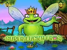 Таблица выплат и информативное меню в классическом Super Lucky Frog