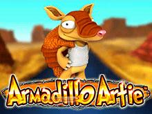 Играть на реальные деньги в автомат Armadillo Artie